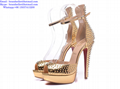 Christian Louboutin high heels wedge women sandals Sexy Lady Pumps