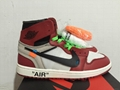 OFF WHITE  nike Air Jordan authentic sport shoes retro jordan brand men shoes