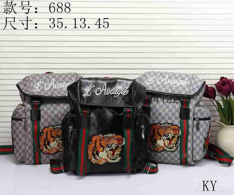 Gucci lv backpack bags purses women handbags supreme luggage wallet belts 10