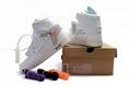 2018 nike air jordan 1 Off-White Flyknit shoes baketball shoe
