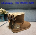 UGG women boot Australia KRISTIN Suede Sheepskin Fully Lined Ankle Boot