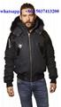 Moose Knuckles winter coat down jacket fur hood men women down dresses genuine