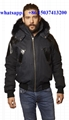 Moose Knuckles winter coat down jacket fur hood men women down dresses genuine