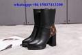 Louis Vuitton high cut women boots Martin lv boot winter shoes