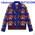 Gucci woollen sweater men and women sweater winter warm shirt  long jacket