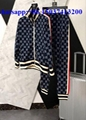Gucci suit men and women newest fashion style jacket with pants