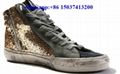 Golden Goose shoes glitter SUPERSTAR Sneakers  leather Suede star With stones