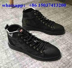 Armani sneakers armani men dresses shoe original leather 1;1 quality best price