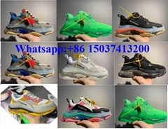 Balenciaga shoes new color sell well Balenciaga Triple-S men women size 35-45