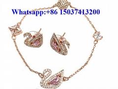 Swarovski jewelry Swarovski sets necklace bracelet earring rings cheap price