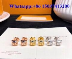 Louiz Vuittoun Necklace lv bracelet earring rings lady jewelry luxury women