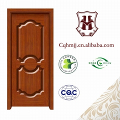 Deep line pattern pressing on composite wood door