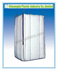 Taller 4-Panel FIBC Jumbo Big Ton Bag with Baffles Inside