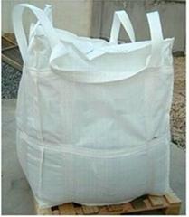 Fully Bottom Lift Transit Bag Square FIBC Jumbo Big Bag