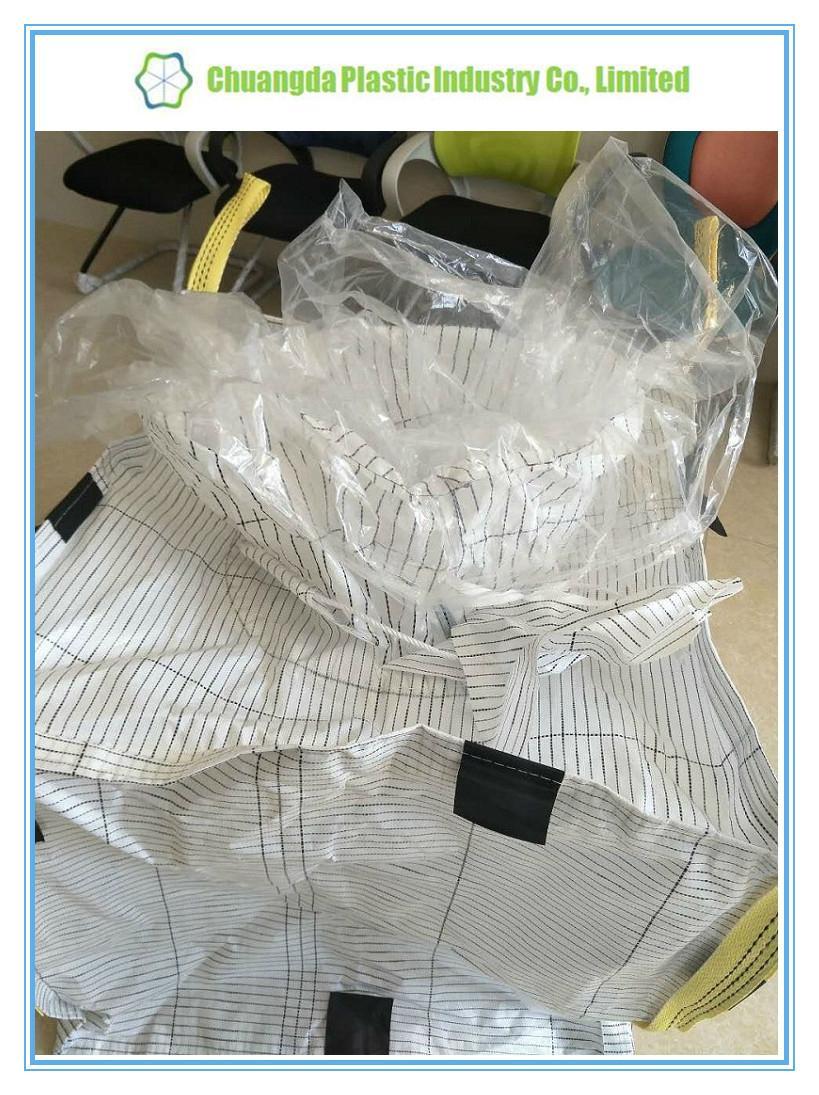 Type C Conductive FIBC Jumbo Big Bag with PE Liner 5