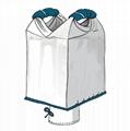 Polypropylene FIBC Big Ton Bag Easy for forklift Lifting 2