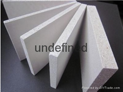 Glass curtain wall base material fire