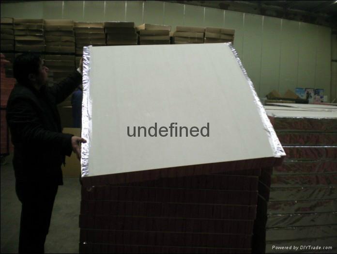 Roof insulation fire insulation board, wall board 1