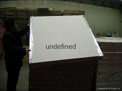Roof insulation fire insulation board, wall board