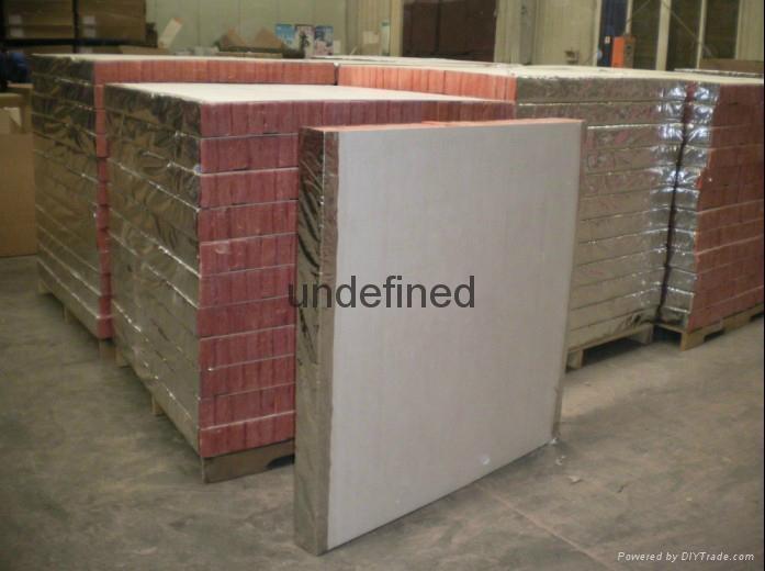 Roof insulation fire insulation board, wall board 2