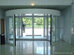 Commercial Two-wing Revo  ing Doors for Shopping Malls
