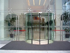 All Glass Revo  ing Doors with Full Vision