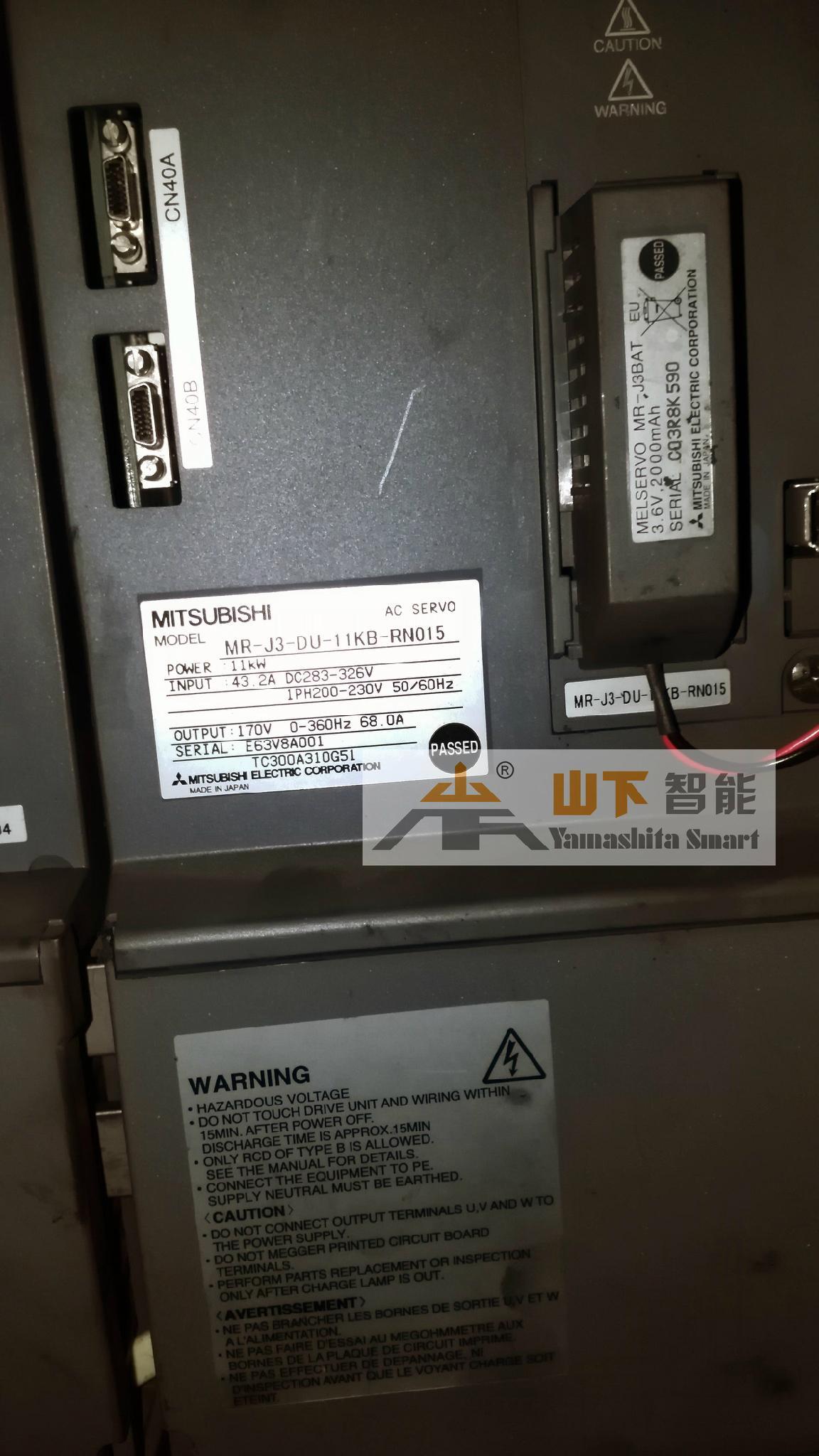 三菱伺服驱动器MR-J2S维修 3