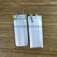 欧创美直销601535-350mah自行车灯专用锂聚合物电池