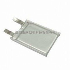 欧创美402030-180mah蓝牙耳机键盘鼠标音响等数码产品专用聚合物锂离子电池
