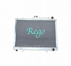 CAR ALUMINUM RADIATOR FOR NISSAN SKYLINE R33(AU) GTS-T RB25 MANUAL