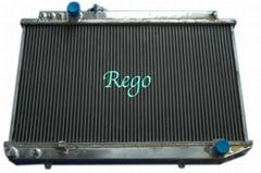 Aluminum radiator for TOYOTA  SUPRA 93-96 3.0L MANUAL