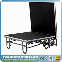 promotion portable event folding stage system for outdoor events
