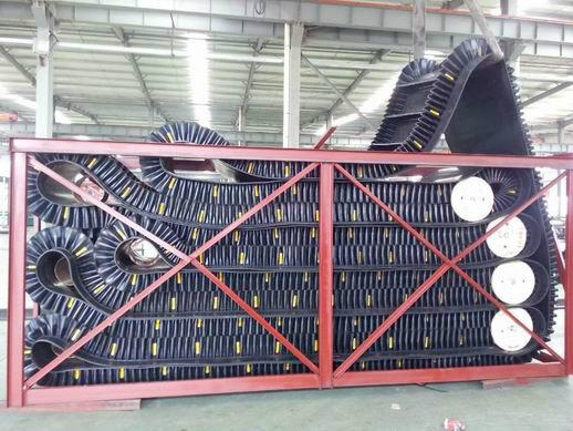 Sidewall Conveyor Belt 3