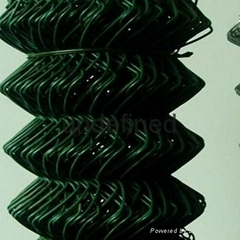 pvc coated factory direct sale chain link cultivation fence