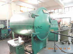 horizontal vacuum metallizing machine for different plastic product such pc,ABS