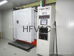 magnetron sputtering machine for colorful plastic products