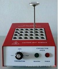 Fiber optic curing oven for fiber patch
