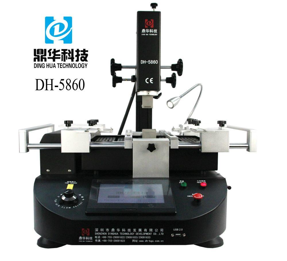 Dinghua DH-5860 mobile phone BGA rework station soldering motherboard  1