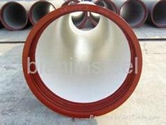 Ductile cast iron steel