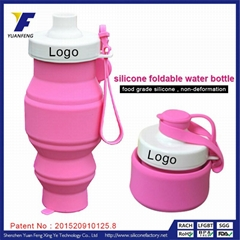 cheap items 530ml outdoor drink bottle silicone sports joyshaker bottle
