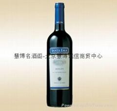 圣打尔玛梅洛红葡萄酒2006 SANTA EMA MERLO