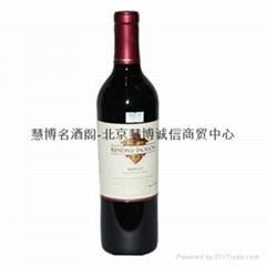 肯德杰克逊酒园精选梅洛干红葡萄酒