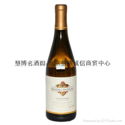 美国2006年肯德杰克逊酒园精选莎当妮白葡萄酒 1