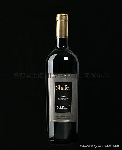 思福酒园梅洛红葡萄酒(Shafer Merlot) 1
