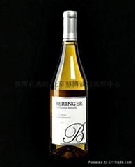 贝灵哲创始者庄园莎当妮白葡萄酒Beringer