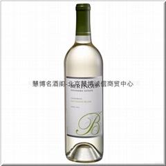 贝灵哲创始者庄园白苏维翁白葡萄酒Beringer