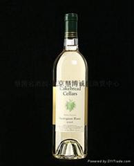 卡布瑞酒窖纳柏谷白苏维翁白葡萄酒