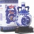 红星青花瓷二锅头酒(红星珍品二锅头)