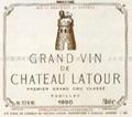 Chateau Latour, Premier Grand Cru Classé, Pauillac 1997/1988/1985/1982  1