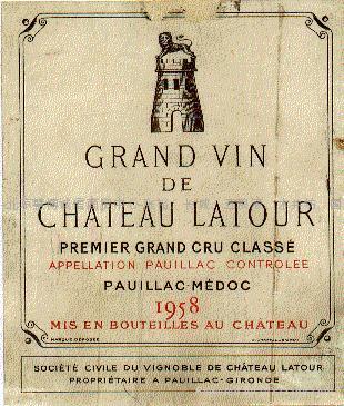 Chateau Latour, Premier Grand Cru Classé, Pauillac 1997/1988/1985/1982  2